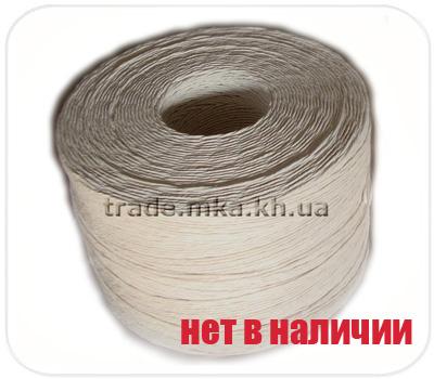 Фото товара Бумажный крафт шпагат белый