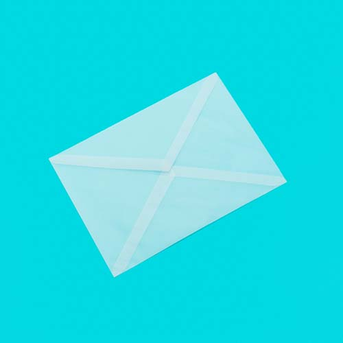 Фото товара Конверт из кальки С5 треугольный клапан
