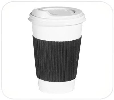 Фото товара Черный капхолдер (термопояс) для стакана