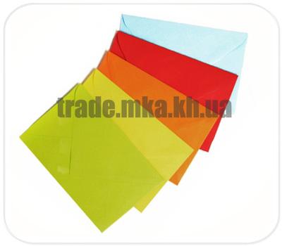 Фото товара Цветной конверт с треугольным клапаном C6 (Mondi Color)