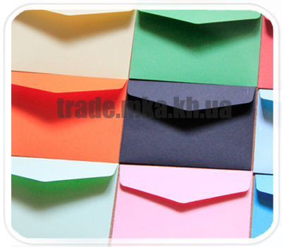 Фото товара Подарочные конверты из дизайнерского картона С6