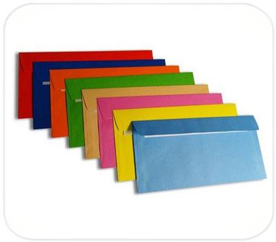 Фото товара Цветной конверт Е65 СКЛ (1+0)