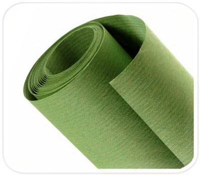 Фото товара Зеленая крафт бумага в рулоне (двусторонняя, 70 г/м2)