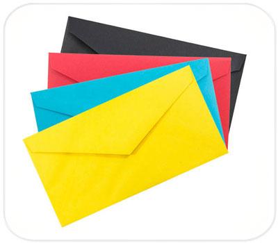 Фото товара Подарочные конверты из дизайнерского картона Е65