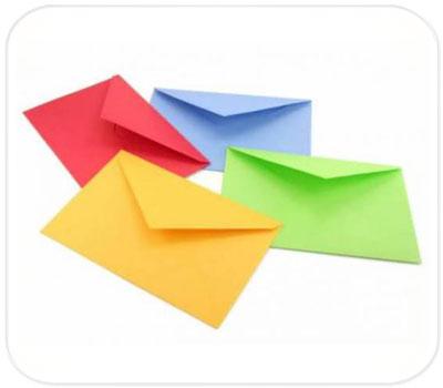 Фото товара Подарочные конверты из дизайнерского картона С4 (А5)