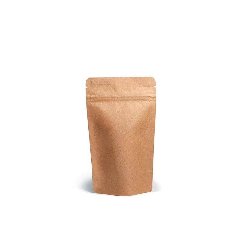 Фото товара Крафт пакет Дой пак + металл, zip замок, 145х85х50 (30 г)