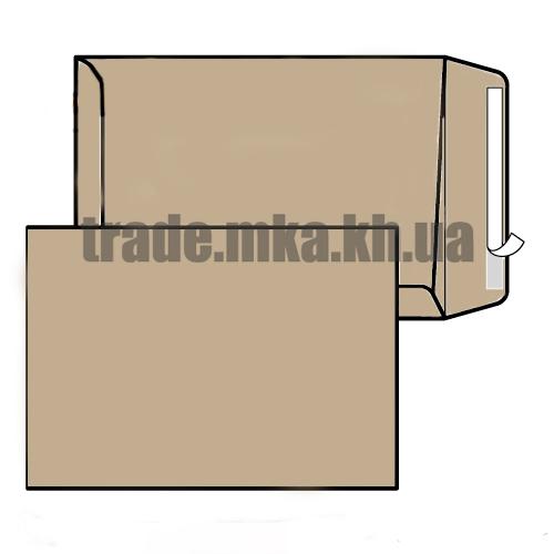 Фото товара Крафт конверт-пакет Е4 (0+0) СКЛ с расширением