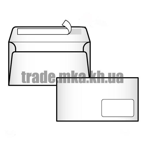 Фото товара Евро конверт Е65 (0+0) СКЛ с окошком