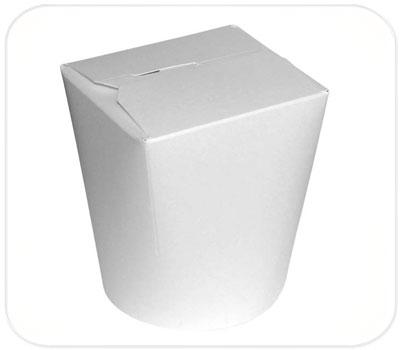 Фото товара Картонная упаковка для FastFood (600 мл, белая)