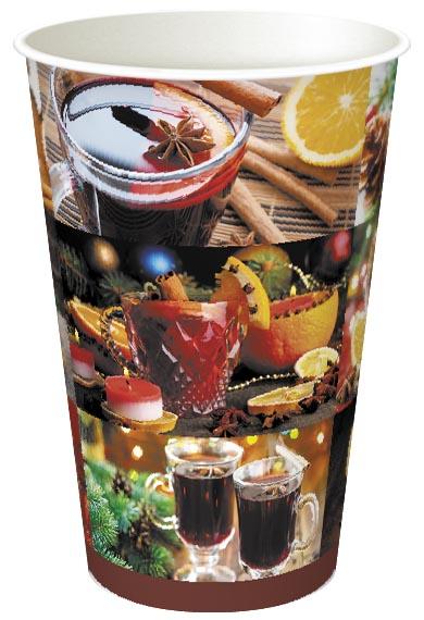Фото товара Одноразовый бумажный стакан 340 мл (000J96)