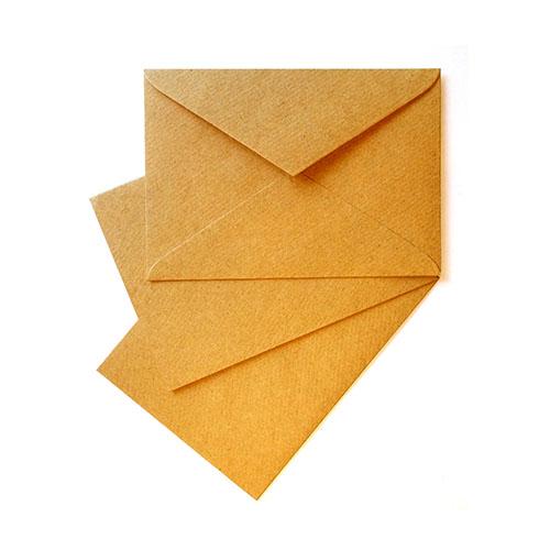 Фото товара Крафт конверт С6 120 г/м2 текстурная полоска