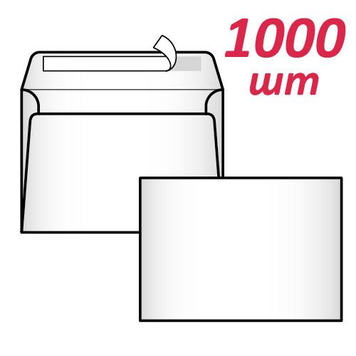 Фото товара Конверт С6 (0+0) СКЛ (1000 шт. упаковка)