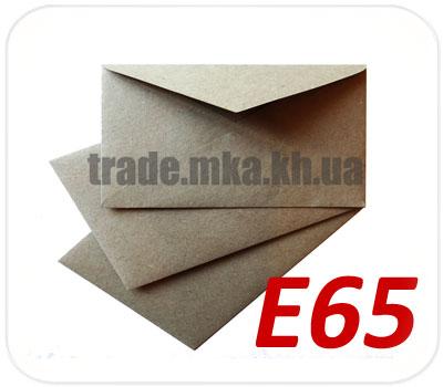 Фото товара Конверт Е65 из целлюлозной бумаги