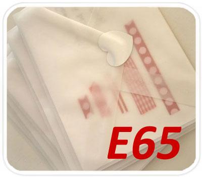 Фото товара Конверт из кальки E65 треугольный клапан