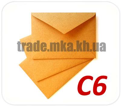 Фото товара Крафт конверт С6 90 г/м2