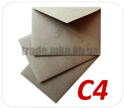 Фото товара Конверт C4 (А4) из целлюлозной бумаги