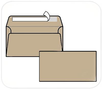 Фото товара Крафт конверт E65 80 г/м2