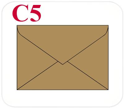 Фото товара Конверт из крафт картона С5 треугольный клапан