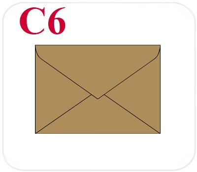 Фото товара Конверт из крафт картона С6 треугольный клапан