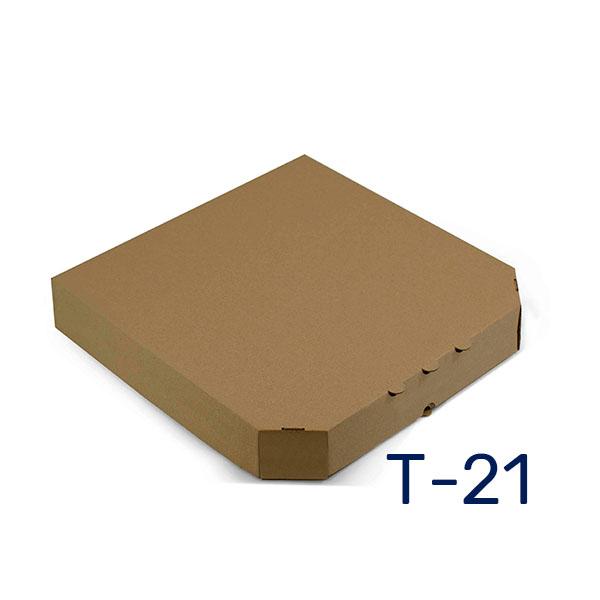 Фото товара Коробка для пиццы 500х500х40 мм бурая eco classic