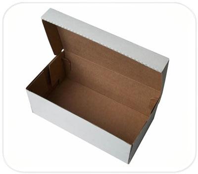 Фото товара Коробка для обуви белая (205x125x85 мм)