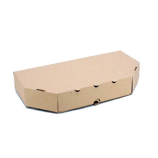 Фото товара Коробка для кальцоне 300х150х35 мм бурая