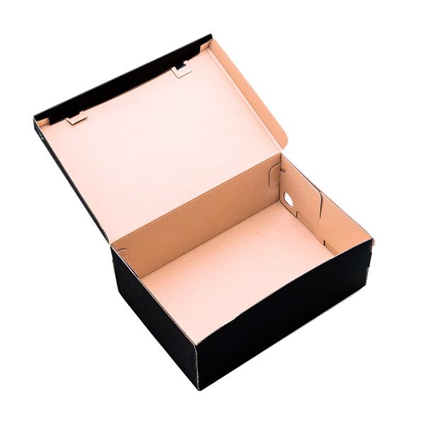 Фото товара Коробка для обуви черная (340x220x125мм)