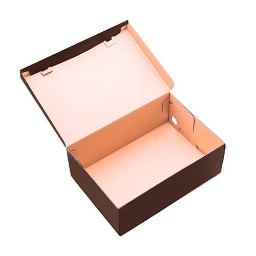 Фото товара Коробка для обуви 330x185x120 мм Коричневая