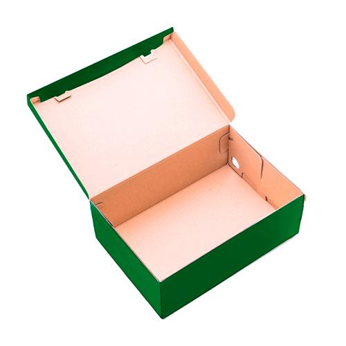 Фото товара Коробка для обуви 330x185x120 мм Зеленая