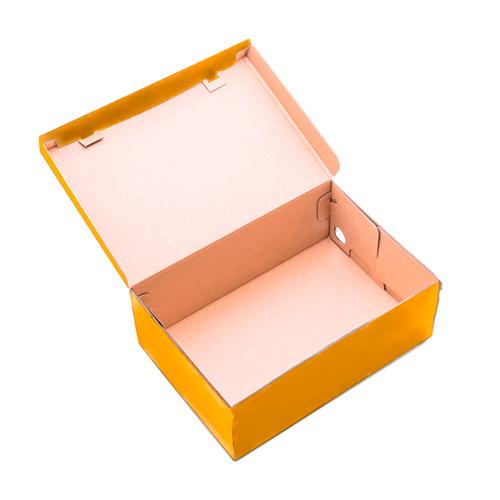 Фото товара Коробка для обуви 330x185x120 мм Оранжевая