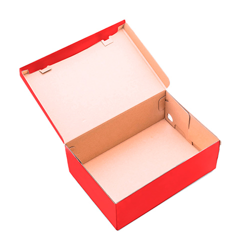 Фото товара Коробка для обуви 340х220х125 мм Красная