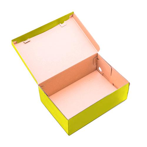 Фото товара Коробка для обуви 330x185x120 мм Желтая