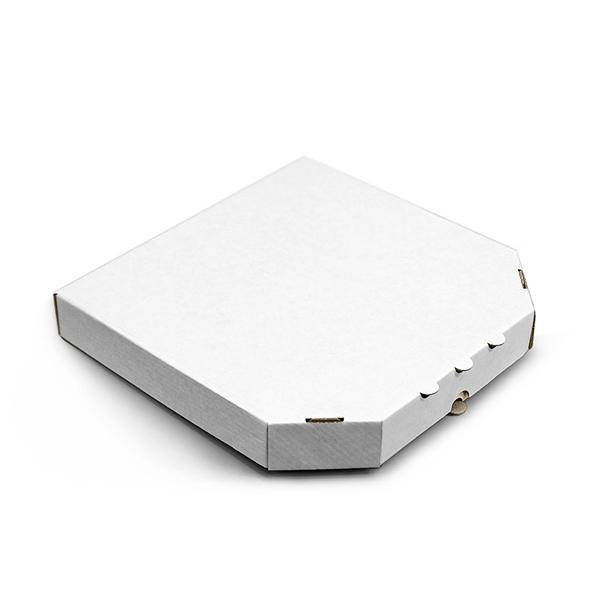 Фото товара Коробка для пиццы 400х400х35 мм белая classic