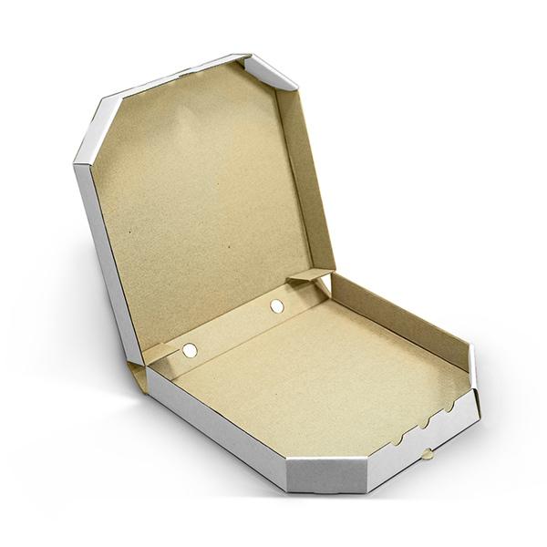 Фото товара Коробка для пиццы 500х500х40 мм белая classic