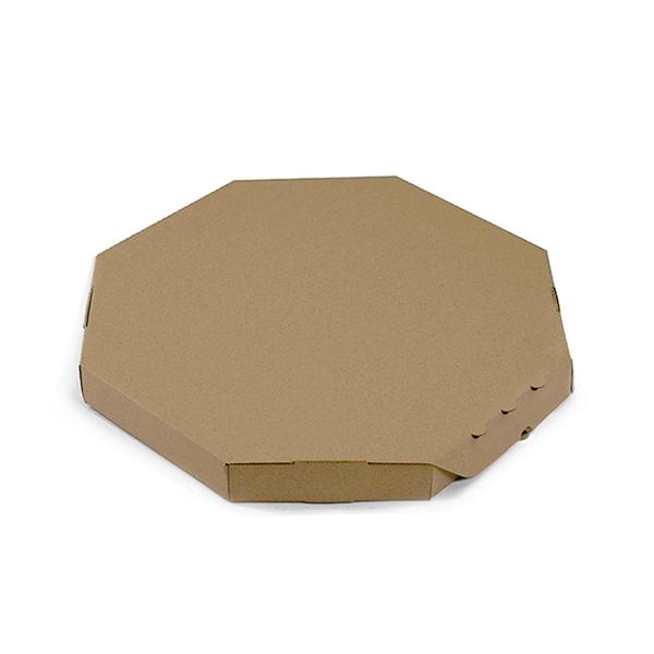 Фото товара Коробка для пиццы коричневая 32х32