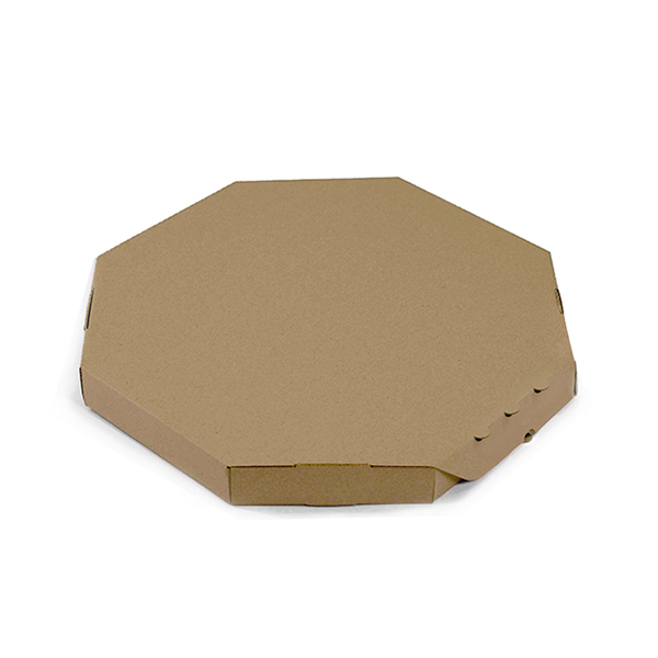 Фото товара Коробка для пиццы коричневая 45х45
