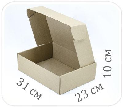 Фото товара Коробка микрогофрокартон 31х23х10 см