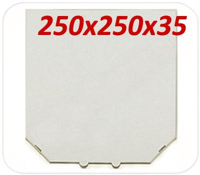 Фото товара Коробка для пиццы 250х250х35 мм