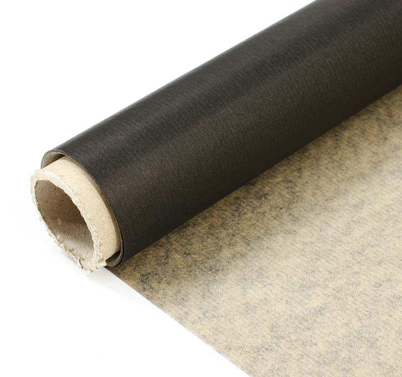 Фото товара Крафт бумага в рулонах черный цвет 38 г/м2