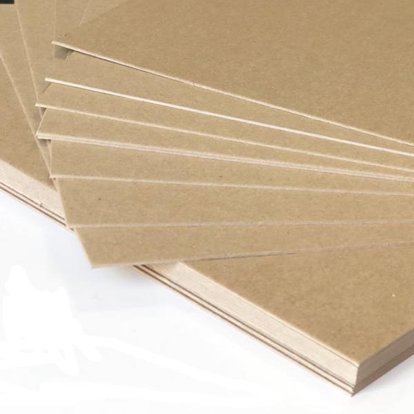 Фото товара Крафт картон 650x900 мм порезка на формат (225 г/м2)