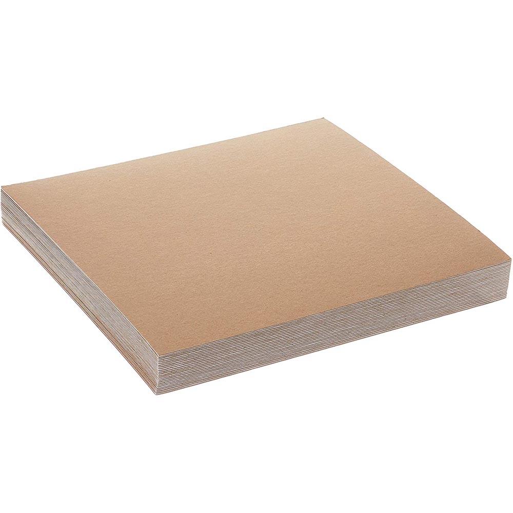 Фото товара Крафт картон 650х900 мм порезка на формат (300 г/м2)