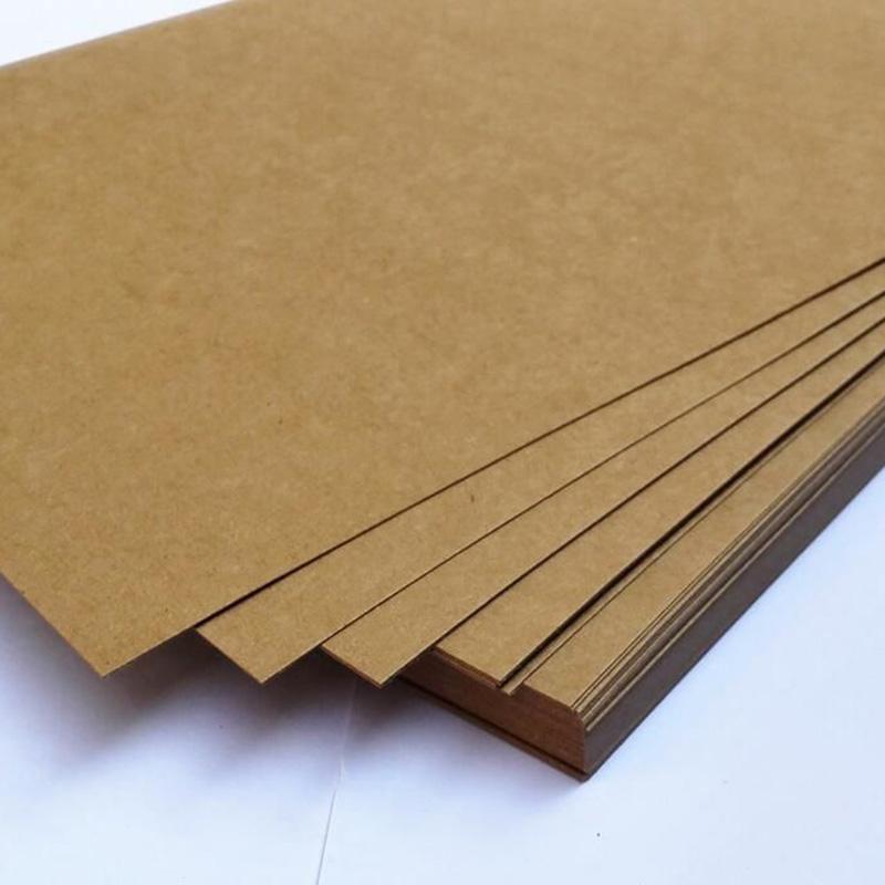 Фото товара Крафт картон 700x1000 мм порезка на формат (115 г/м2)