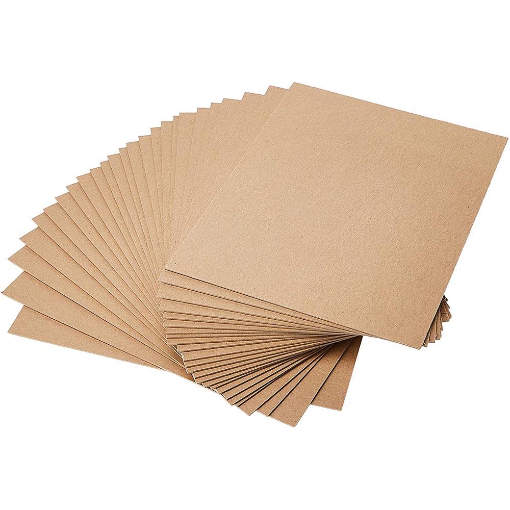 Фото товара Крафт картон 720x1000 мм порезка на формат (275 г/м2)