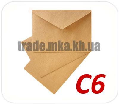 Фото товара Крафт конверт С6 70 г/м2