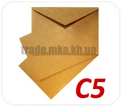 Фото товара Крафт конверт С5 125 г/м2 (А5)