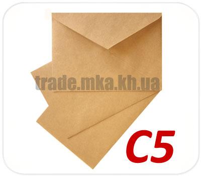 Фото товара Крафт конверт С5 70 г/м2 (А5)