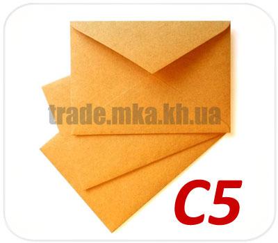 Фото товара Крафт конверт С5 90 г/м2 (А5)