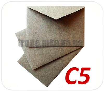 Фото товара Конверт C5 (А5) из целлюлозной бумаги