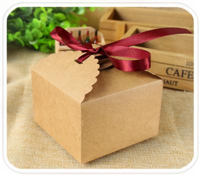 Фото товара Подарочные крафт коробки