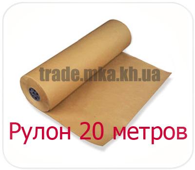 Фото товара Крафт бумага МЦБК в рулоне 20 метров